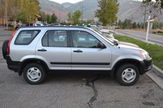 My fourth window cleaning vehicle - the family car, a Honda CRV    #HondaCRV #Honda #HondaCars