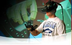 [3] VR(Virtual Reality) is a kind of technology. via VR people can experience virtual world. In VR there is another reality. so I selected VR