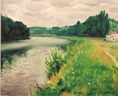 La Seine à Méricourt,1937-1938 © Albert Marquet. It seemed like such a good idea at the time though