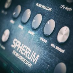 Spherum FX Re-synthesizer VSTi plug-in for psytrance, goa trance, hitech, electro house and DnB producers. Experimental, sci-fi and futuristic sound effects Music Software, Sound Effects, Electronic Music, Plugs, Corks, Ear Plugs