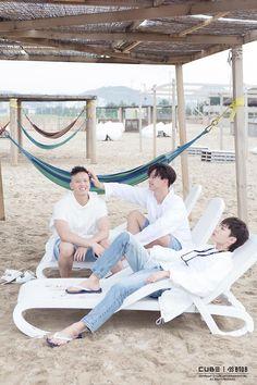 Peniel, SungJae and IlHoon The best Maknae line in kpop!
