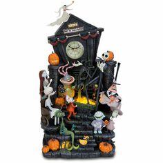 Tim Burtons The Nightmare Before Christmas Clock