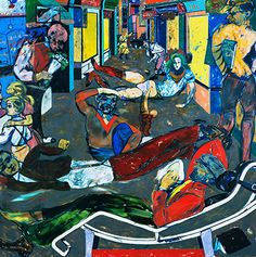 RB Kitaj paintings and drawings - in pictures