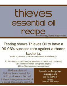 Thieves copycat recipe