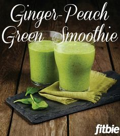 This sweet and spicy blend from celebrity trainer Harley Pasternak offers six servings of produce per glass! A much healthier way to celebrate #StPatricksDay (sorry, green beer).