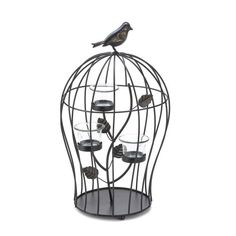 Koehler Holiday Season Home Decor Metal Branch Triple Birdcage Centerpiece Tabletop Candleholder *** See this great product.  This link participates in Amazon Service LLC Associates Program, a program designed to let participant earn advertising fees by advertising and linking to Amazon.com.