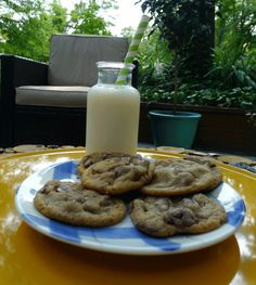 Here are our Chocolate Chip Cookies. Check out the wonderful article about all of our cookies http://www.akronohiomoms.com/?p=76517 by Akron Ohio Moms.