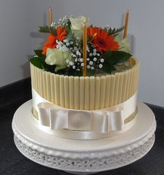 Image result for fresh flower cake Fresh Flower Cakes