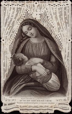 Christmas Mary with Baby Jesus.     YBH