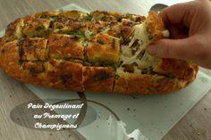 pain degoulinant au fromage et champignon 3.CR2