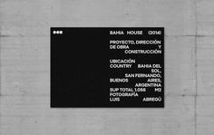 Proyecto de branding para OON Architecture y desarrollo de imagen institucional…