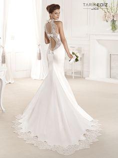 Svatební šaty | Tarik Ediz White 2014 - Ulička Perfektní ®