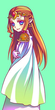 Zelda from Oracle of Season/Ages