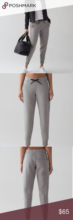 New Lululemon NTS Jogger Pants New with tags. No flaws. No trades, bundle to save even more. Wicking fabric with a soft, cottony handfeel helps keep you warm and comfortable before and after training. Wicking fabric has a soft, cottony handfeel, while Spacer construction makes this garment breathable and thermo-regulating sweat-wicking soft breathable thermo-regulating lululemon athletica Pants Track Pants & Joggers