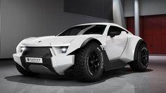 A Corvette engine and off-road everything else makes for an epic vehicle Audi A1 Sportback, Lexus Lfa, Offroader, Exotic Sports Cars, Rear Wheel Drive, Lamborghini Gallardo, Chevrolet Corvette, Concept Cars, Supercars