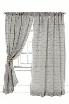 Jute Loops Curtain