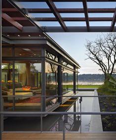 ♥ Modern Wassergarten-Metall Konstruktion Sonnenschutz Pergola