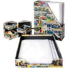 Com este super kit de escritório os heróis da DC Comics ajudam você a organizar…