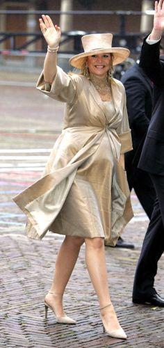 Princess Máxima, April 30, 2005