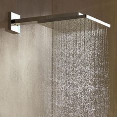 Hansgrohe Raindance E 300 Air Kopfbrause mit Brausearm chrom - 26238000 Shower Fixtures, Shower Systems, Bathroom Inspiration, Designer, Minimalism, Interior Design, Luxury, House, Crib
