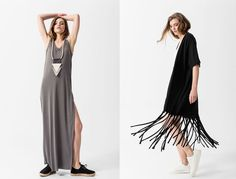 EMENAY SS16 collection | Minimal lines in lush fabrics with ethnic details are right at the core of the EMENAY SS16 collection which is inspired by the casual feel of the Greek summer islands! The EMENAY SS16 collection follows fashion trends without cutting down on its minimal character. Long dresses, tops with unexpected cuts, comfy trousers and culottes follow your move, cardigans that embrace your body and fringed jackets that dance with every step you take, all in minimal lines that… Greece Today, Every Step You Take, Fringe Jacket, Contemporary Fashion, Ss16, Long Dresses, Lush, Islands, Ethnic