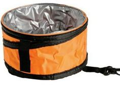 Promo Item Idea: Collapsible Water Bowl $3.59-$3.25 (150-2,500). Colors: Blue, Red, Green, Orange, Black