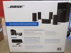 Home Speakers and Subwoofers: Bose Acoustimass 10 Series V Home Theater System, Black Brand New -> BUY IT NOW ONLY: $879 on eBay!