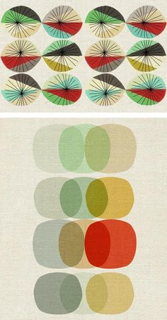 simple yet elegant retro pattern Textile Patterns, Textile Design, Textiles, Fabric Design, Print Patterns, Design Art, Mid Century Modern Art, Mid Century Art, Mid Century Design