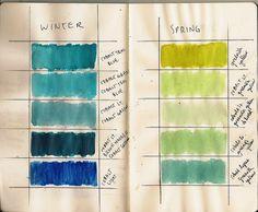 Color Study 3 by Frances Waite Art, via Flickr
