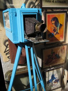 camera at flea market in Athens #camera #flea #market