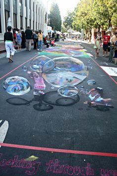 Italian street painting via flickr