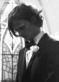 Imagine this is Matthew on your wedding day and he's waiting for you to make your entrance.