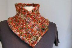 Herringbone Neck Warmer | Flickr - Photo Sharing!