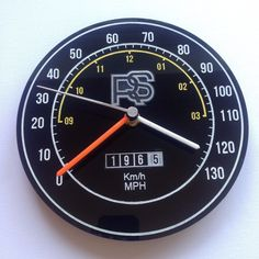 Classic Ford Escort RS2000 Cortina Capri RS2000 retro wall clock custom mancave
