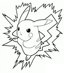 pikachu coloring pages free printable pikachu coloring pages for kids