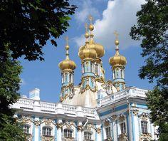 Tsarskoye Selo onion domes