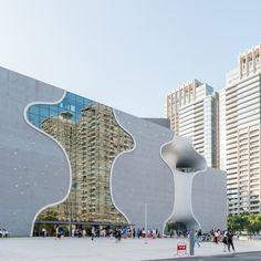 Toyo Ito's Taichung Metropolitan Opera House Photographed by Lucas K Doolan