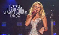 QUIZ: http://www.countryoutfitter.com/style/miranda-lambert-lyrics-quiz/?lhb=style