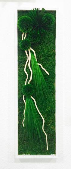 Agencement végétal, végétaux stabilisés, mur végétal, tableau végétal, mousse stabilisée. Réalisation Adventive. Interior plant Designer