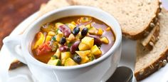 Food Network Calorie-Cutting Recipes - my own veggie chili seems simpler than theirs. Chili Recipes, Soup Recipes, Diet Recipes, Cooking Recipes, Healthy Recipes, Protein Recipes, Recipies, Lunch Recipes, Casserole Recipes