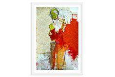 One Kings Lane - Emerging Artists - Jylian Gustlin, Stitched II