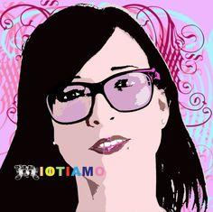 Anna Goglio testimonial del progetto artistico IOTIAMO (www.iotiamo.info) crea una collezione di abiti firmati IOTIAMO. Con Anna IOTIAMO entra nell'ambito della cultura aziendale con un progetto di valorizzazione del comparto manifatturiero italiano di alta qualità