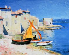 Port de la ponche, by Marquet