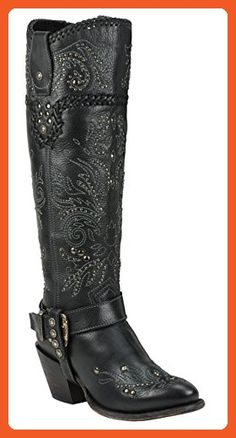Black Star ANDROMEDA (Black) Women's Western Fashion Boots (7) - Boots for women (*Amazon Partner-Link)