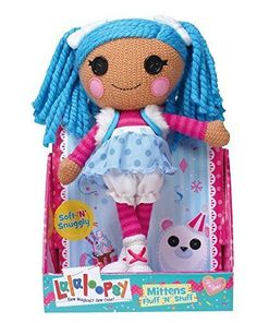 Lalaloopsy Rag Doll Super Silly Party Crochet Dolls Mittens Fluff N Stuff