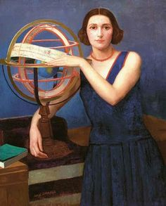 Angel Zarraga (1886-1946) Mexican Artist