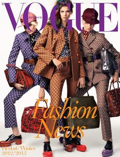 Iris Van Berne - Kendra Spears - Melissa Stasiuk - Vogue Germany - Vogue Germany F/W 12 Supplement Cover Fashion News 7/2012