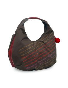 Breezy Calista Brown - A youthful graphic printed brown hobo bag by Baggit.  http://www.baggit.com/