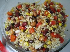 The Piggly-Wiggly... Culinary Adventures from a Kitchen in Cincinnati: Barley & Bean Salad