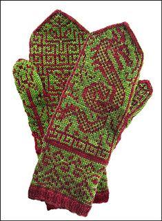Ravelry: Ming Mittens pattern by Bill Thoms Mittens Pattern, Knit Mittens, Knitting Socks, Hand Knitting, Knitting Patterns, Stitch Patterns, Crochet Gloves, Knit Crochet, Fingering Yarn